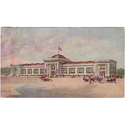 Vintage, Advertising Postcard - Watkins Administration Building