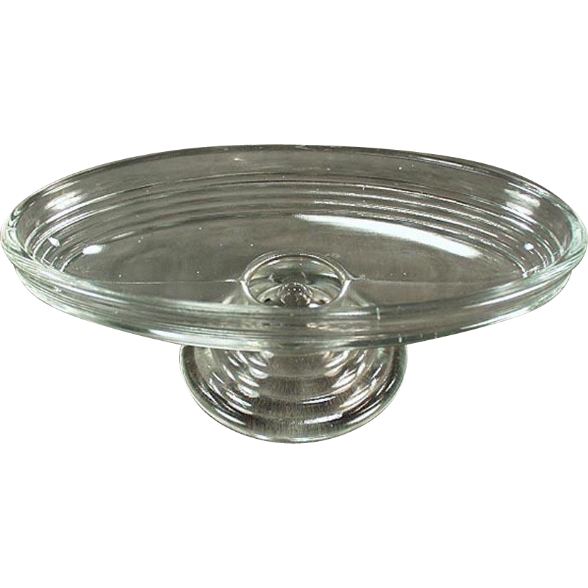 Vintage Soda Fountain Dish - Footed Banana Split - Two Available