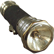 "Vintage, Battery Operated Flashlight - ""Yale"""