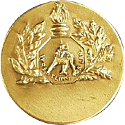 Vintgae Sports Medal Pin - Wrestling