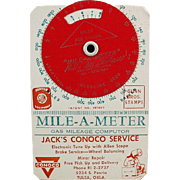 Old, Mile-A-Meter Computer - Conoco Advertising