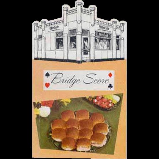 Old, White Castle Hamburger Restaurant Advertising - Bridge Notepad