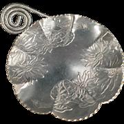 Vintage, Hammered Aluminum Serving Tray - Farber & Shlevin