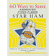 Vintage, Armour Ham Advertising, Recipe Book