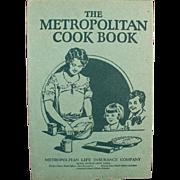 Vintage, Metropolitan Cook Book with Great, Common Sense Information