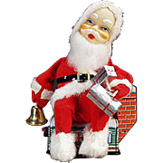 Vintage, Battery Operated Toy - Santa Claus with Original Box