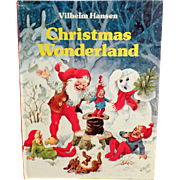 Vintage, Holiday Storybook for Children - Christmas Wonderland by Vilhelm Hansen
