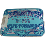 Vintage, Edgeworth Sliced Pipe Tobacco, Pocket Tin - Very Nice Condition
