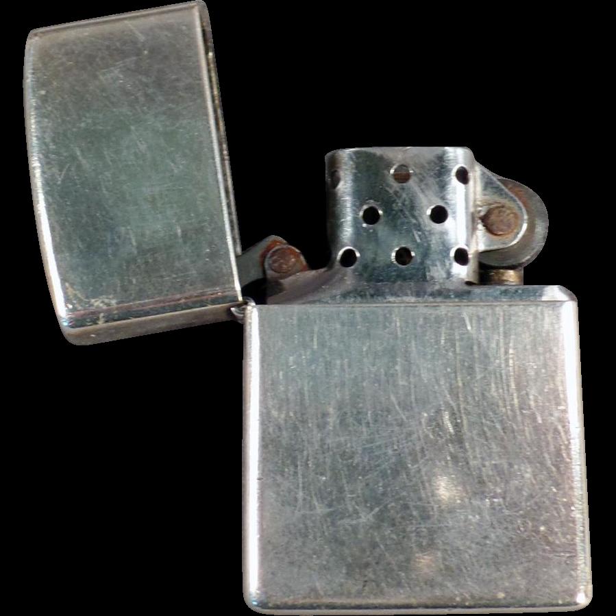 sc 1 st  Ruby Lane & Vintage Zippo - Basic Cigarette Lighter : Ogeeu0027s Antiques | Ruby Lane