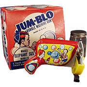 Vintage Bubble Machine - Jum-Blo Bubble Machine Gun with Original Box