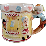 Child's Vintage, Nursery Rhyme Milk Cup - Hansel & Gretel
