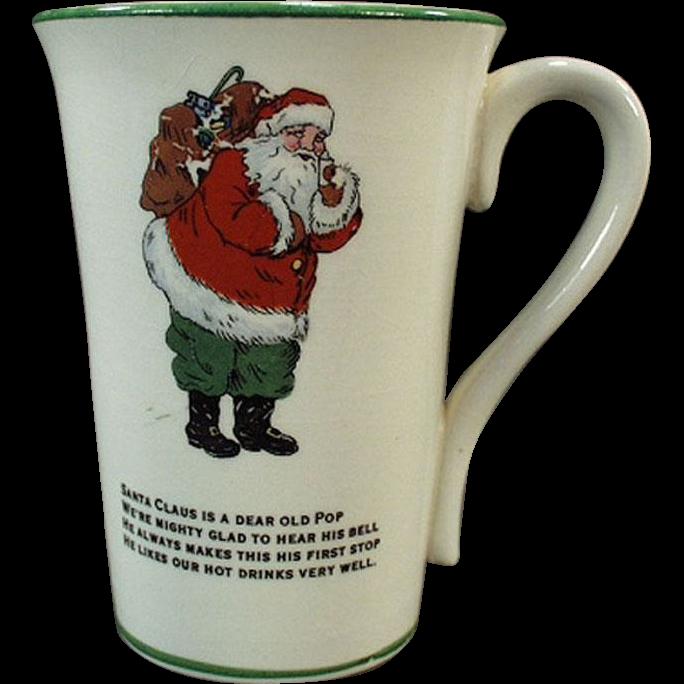 Vintage, Humoresque Cup featuring Santa Claus