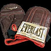 Vintage, Everlast #4308, Speed Bag Training Gloves