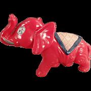 Vintage, Celluloid Elephant, Nodder Toy