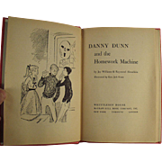 Vintage Book - Danny Dunn and the Homework Machine - 1959 Hardbound