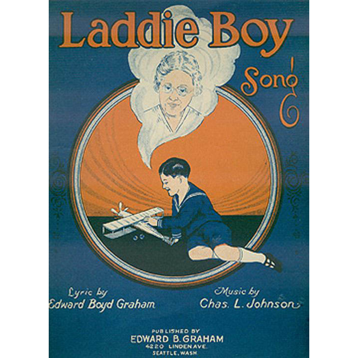 Vintage Sheet Music- Laddie Boy - Orphan's Song