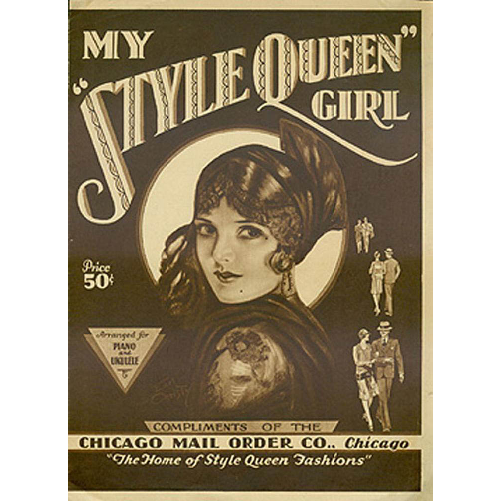 Vintage Sheet Music - My Style Queen Girl