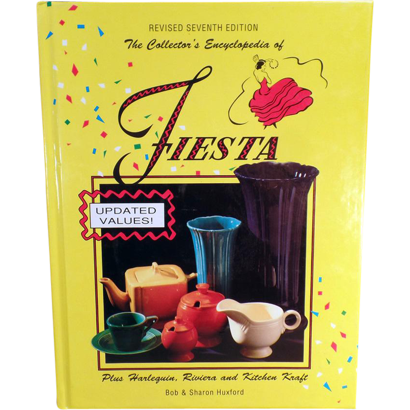 Old Reference Book - Encyclopedia of Fiesta - Revised 7th Edition by the Huxfords
