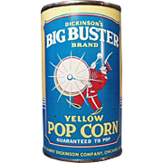 Vintage, Big Buster Popcorn Tin - Full, Unopened