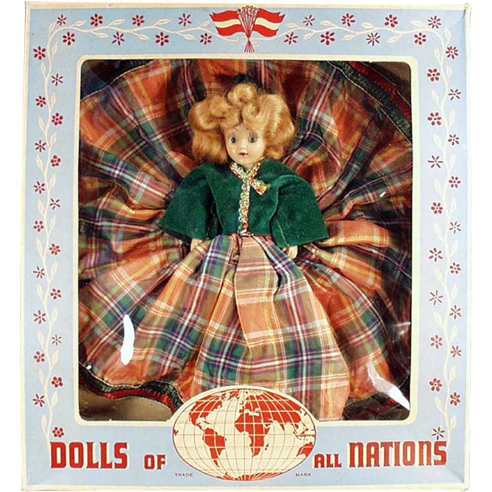 Vintage Duchess Doll with Original Box - Scottish Girl - Dolls of All Nations