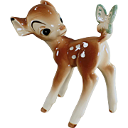 Vintage Enesco, Disney Figurine -  Bambi with Butterfly
