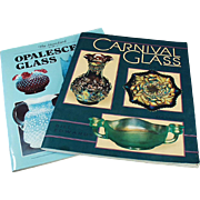Old Reference Books by Bill Edwards - Carnival & Opalescent Glass