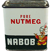 Vintage Spice Tin -  Nabob from Canada