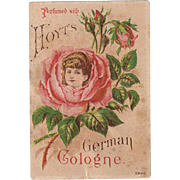 Vintage Trade Card - Hoyt Perfume - Pretty Image