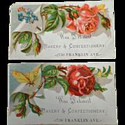 Vintage Trade Cards - Dehnert Bakery & Confectionery