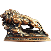 Vintage, Paperweight - Lion International Advertising