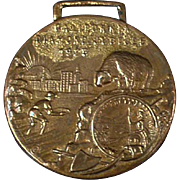Vintage Watch Fob - California's Diamond Jubilee - 1925