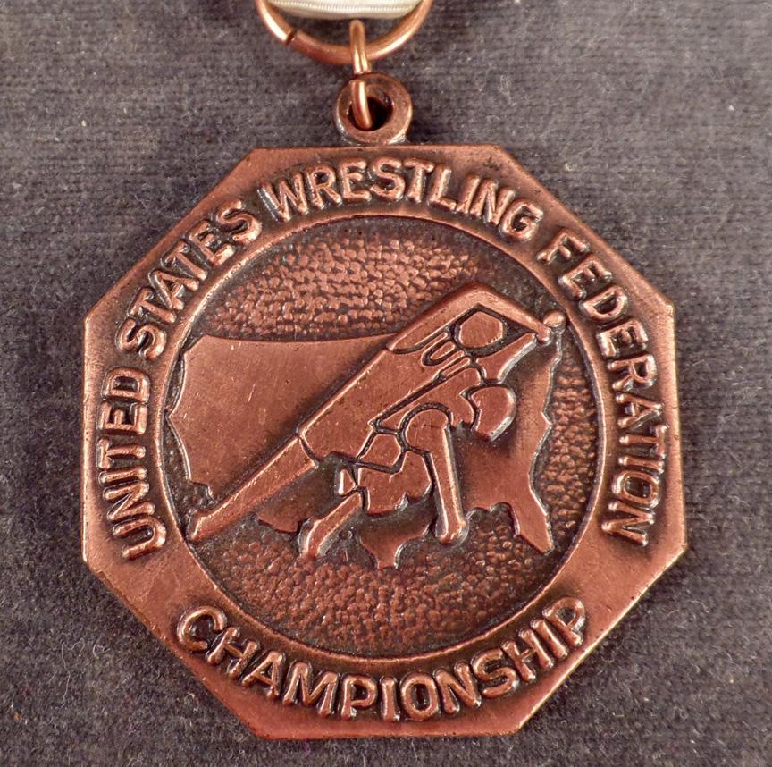 Vintage Sports Medal With Original Ribbon
