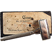Vintage Safety Razor - Clauss Never Fail with Original Box