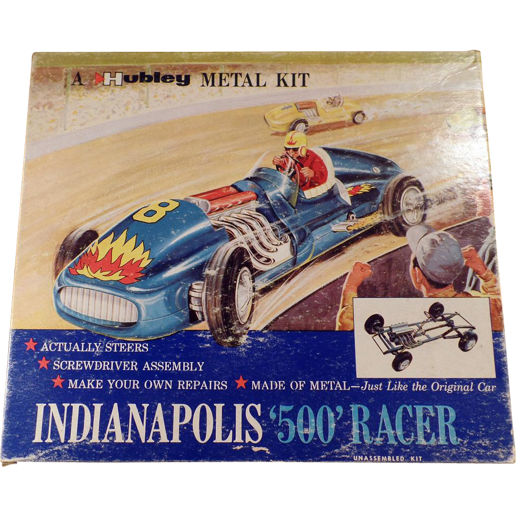 Vintage, Hubley Metal Kit - Indianapolis 500 Racer - #852K-300