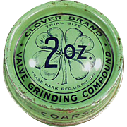 Vintage, Clover Brand Compound Tin with Nice Graphics