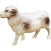 Vintage, Celluloid Toy - Miniature Ram Figure