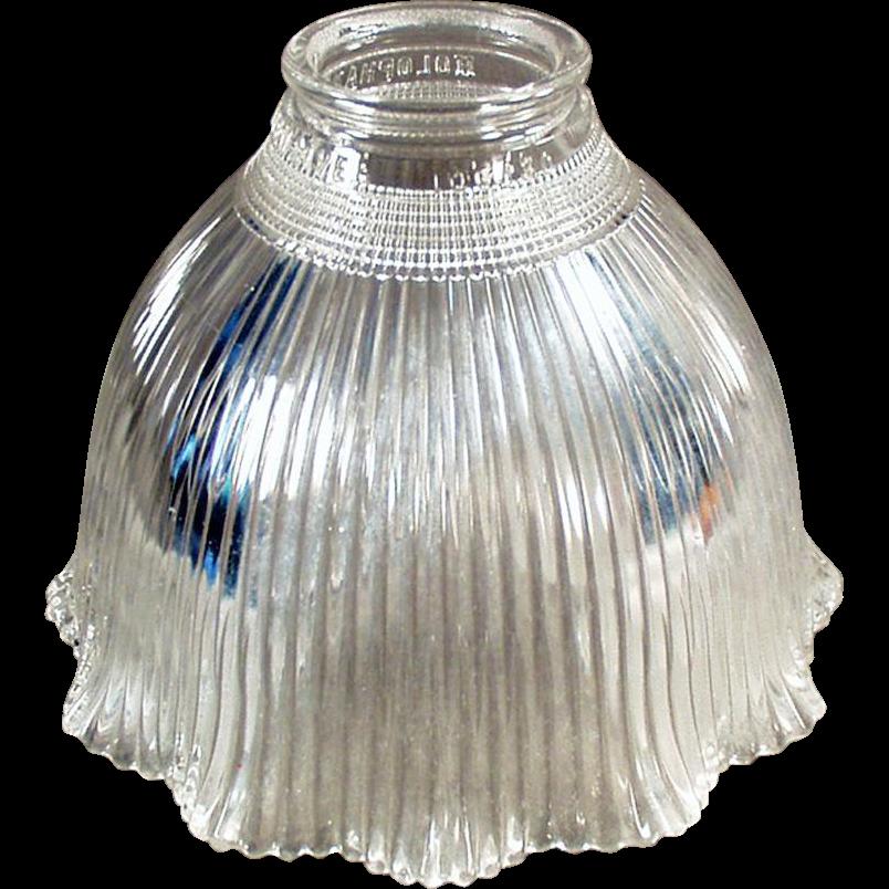 Vintage Light Shade - I-5 Holophane - Single