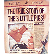 Old Storybook - The True Story of the 3 Little Pigs - Fun for All Ages