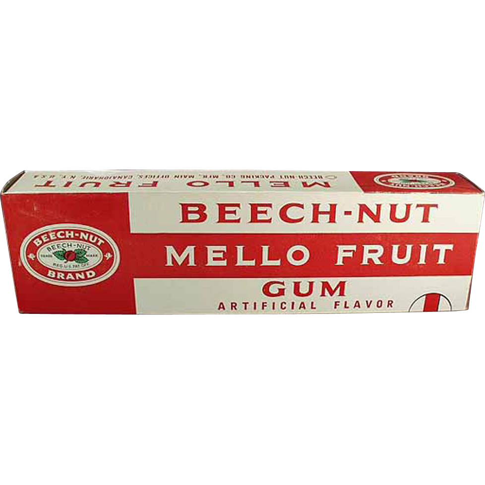 Vintage, Advertising Display - Large, Beech-Nut Gum Box