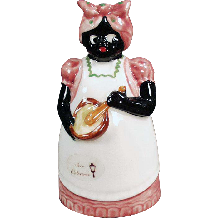 Vintage Souvenir of New Orleans - Black Mammy Bell