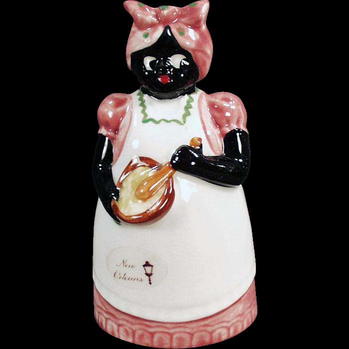 Vintage Souvenir of New Orleans - Black Mammy Bell