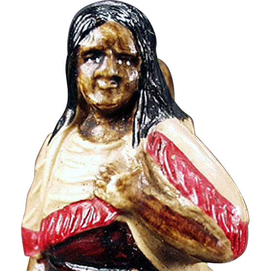 Vintage Celluloid, Perfume Holder - Indian Woman - German