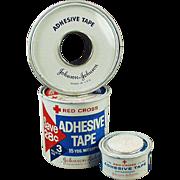 Vintage, Medical Advertising Grab Bag - J & J Red Cross Items