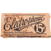 Vintage, Steel, Phonograph Needles - Electro-Phonic Loud Tone