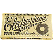 Vintage Phonograph Needles - Electro-Phonic Loud Tone