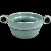 Vintage, Bennington Art Pottery - Handled Bowl