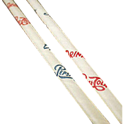 Vintage, Pepsi Advertising, Six Paper Straws