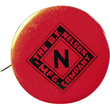 Vintage, Celluloid Tape Measure - Nelson Roofing Advertising