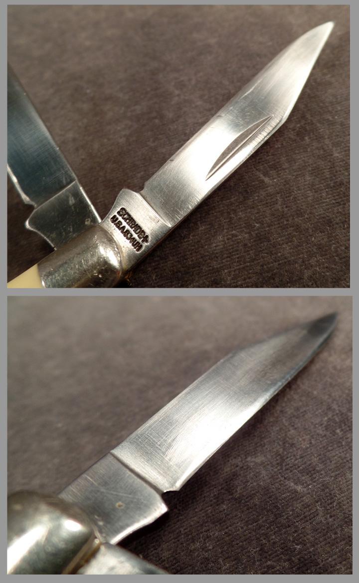 vintage schrade u201cuncle henry u201d folding pocket knife model 834uh