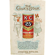 Vintage, K C Advertising, Recipe Booklet